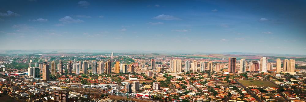 Vista panorâmica da cidade