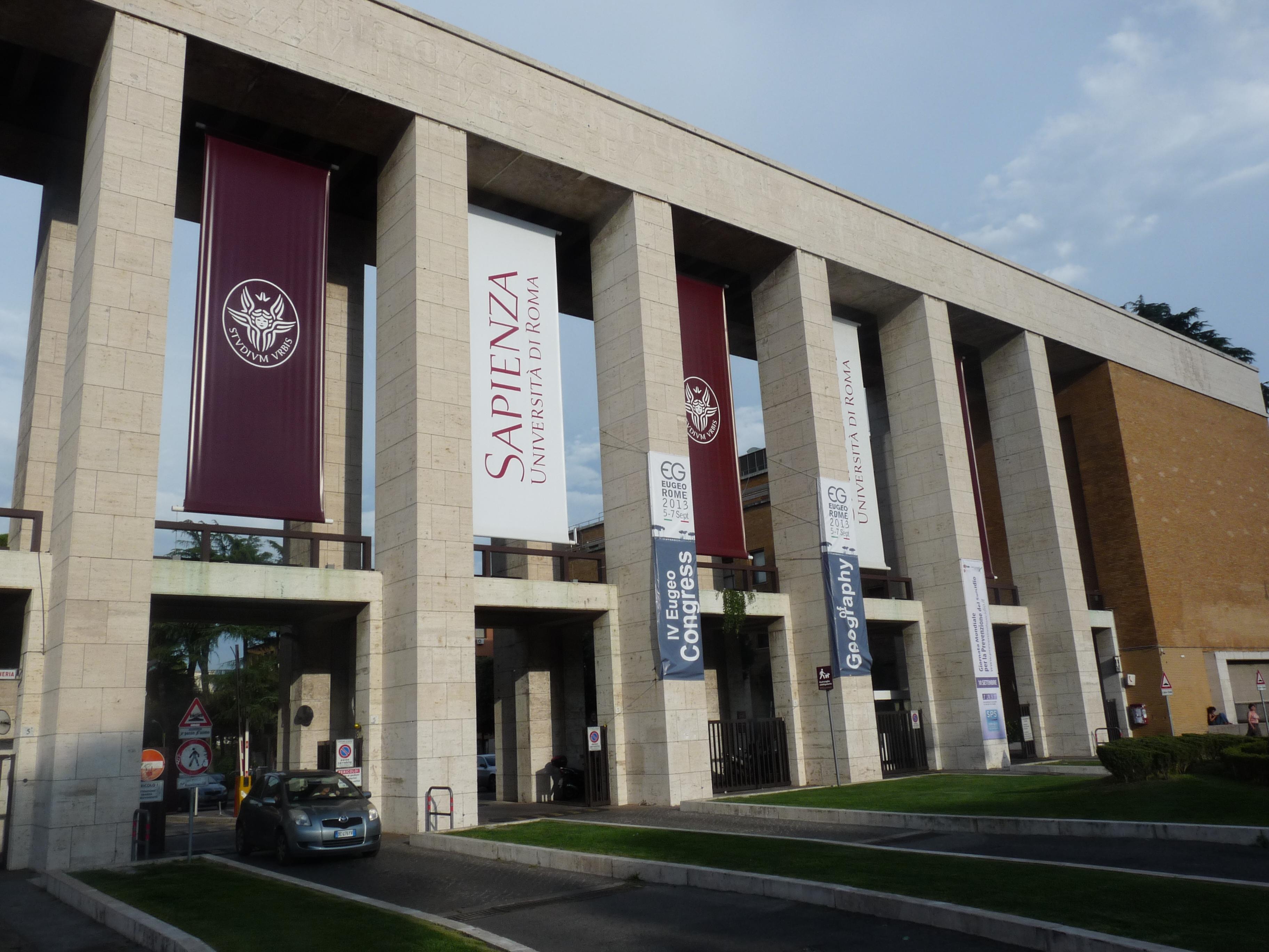 Universit degli studi di roma la sapienza for Elenco studi di architettura roma